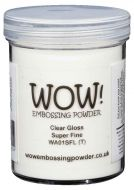 Wow! Clear Gloss Embossing Powder (Large Jar - 160ml) - UK ONLY