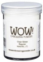 Wow! Clear Gloss Regular Embossing Powder Large (160ml)  - UK ONLY