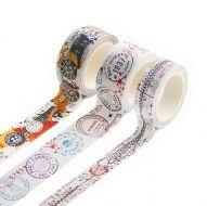 Bipasha BK Washi Tape Collection (No. 13 to 15)