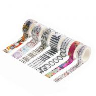 Bipasha BK and Janet Klein Washi Tape Collection (No. 13 to 19)