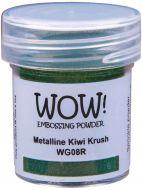 Wow! Metalline Kiwi Krush  Embossing Powder (15ml)  - UK ONLY