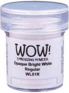 Wow! Bright White Embossing Powder Regular (15ml) - UK ONLY