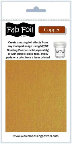WOW! Fab Foil - Bright Copper