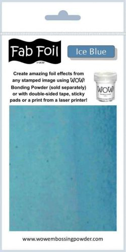 WOW! Fab Foil - Ice Blue