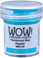 Wow! Fluorescent Blue Embossing Powder (15ml)  - UK ONLY
