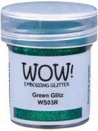 Wow! Green Glitz Embossing Powder (15ml)  - UK ONLY