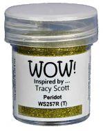 Wow! Peridot Embossing Powder by Tracy Scott (15ml)  - UK ONLY