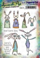 Zinski Art Set Paperartsy A5 Cling Rubber Stamp Set (ZA54)