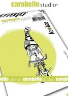 Zolitin Zelie aZoline a7 cling stamp by Carabelle Studio SA70167