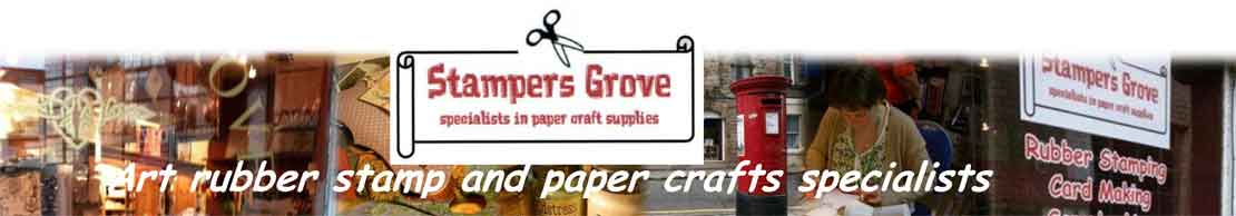 Zini ZN40 PaperArtsy 8cm by 5cm cling stamp - Stampers Grove is a webshop and mobile craft shop.